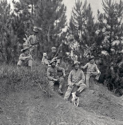 Schweizer in der niederländischen Kolonialarmee auf Indonesien